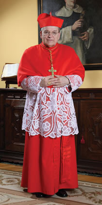 Archbishop Raymond L. Burke, National Director of the Marian Catechists